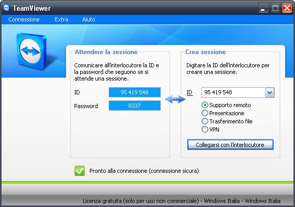 TeamViewer: controllare il PC tramite un'APP