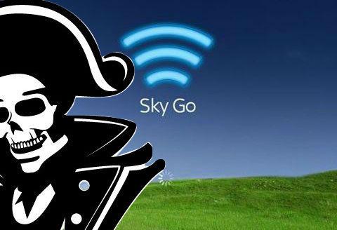 Lo Sky Go dei pirati su Smartphone e Tablet