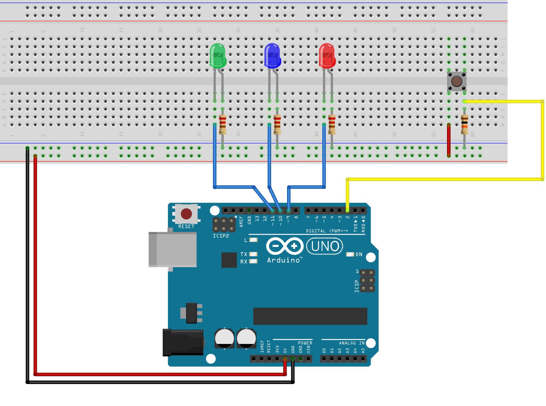 Schemi Elettrici Arduino : Giochi di luce con arduino extremegeneration