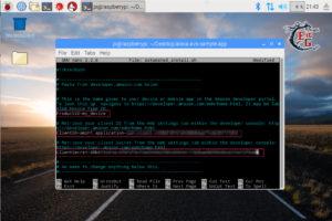 alexa raspberry configurazione