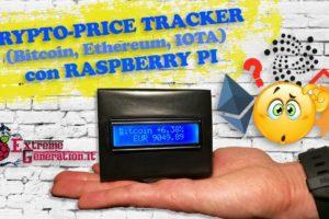 CryptoCurrency Price-Tracker [Bitcoin, Ethereum, IOTA] con Raspberry Pi