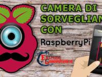 Camera di Sorveglianza (MotionEye) con Raspberry Pi